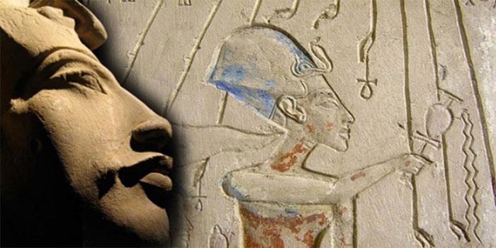 Akhenaten tôn thờ thần Aten.