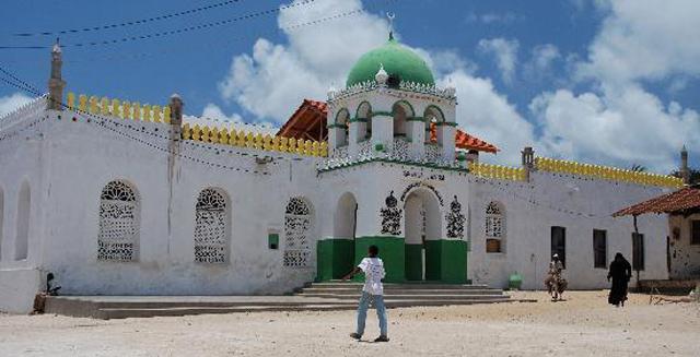 Nhà thờ Hồi giáo ở Luma.