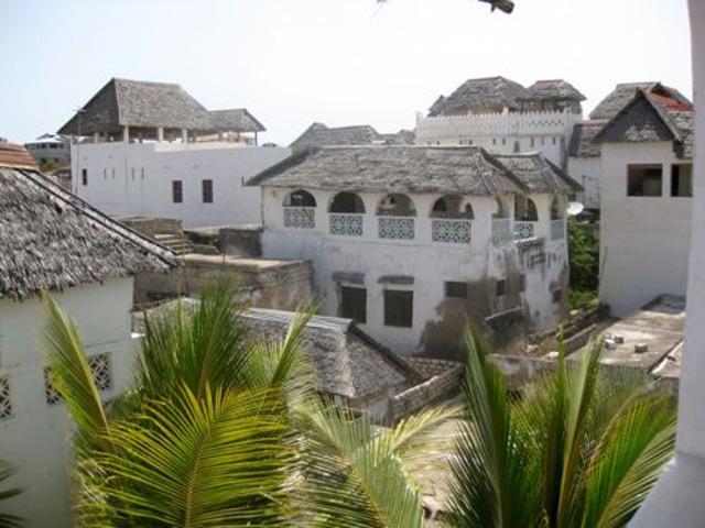 Những ngôi nhà thời Trung cổ.