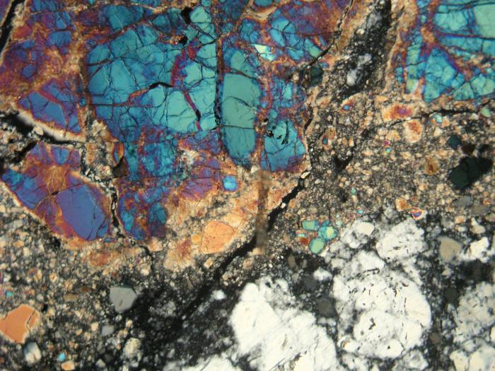 Các mẫu đá trên Mặt trăng do Apollo 17 mang về.