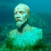 Độc đáo bảo tàng điêu khắc dưới đáy biển