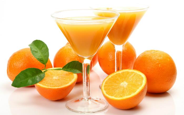 Nước hoa quả giải được ngộ độc rượu nhẹ