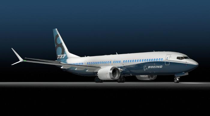 Chiếc Boeing 737 MAX - phiên bản mới nhất của dòng máy bay Boeing 737.