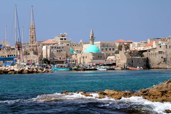 Thành phố Acre nhìn từ biển