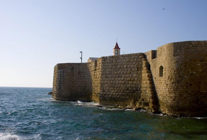 thành cổ Acre là một minh chứng quan trọng của thành lũy thời Ottoman