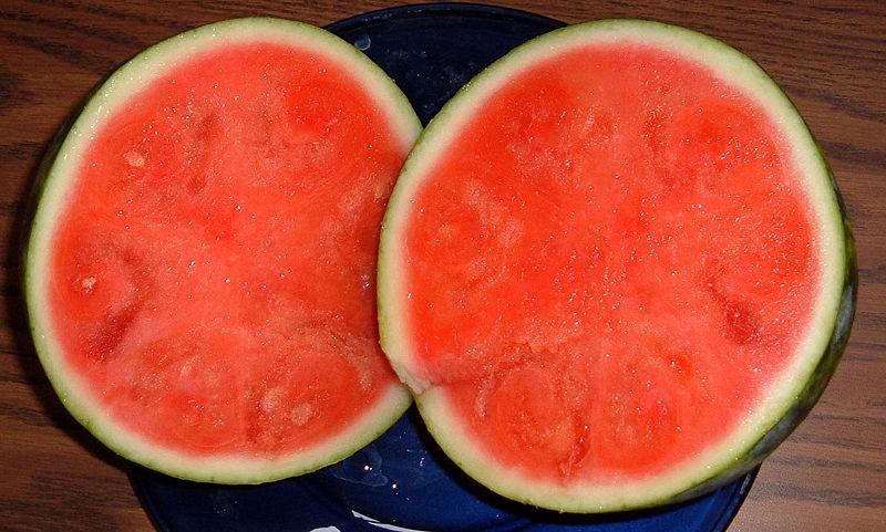Giống dưa hấu có phần thịt quả màu đỏ tươi ngày nay