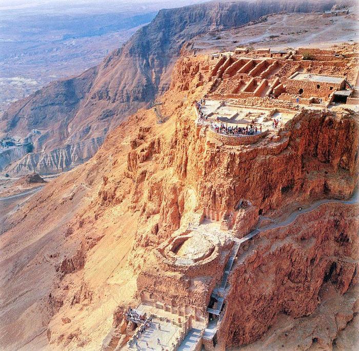 Pháo đài Masada là bất khả xâm phạm khi mới được xây dựng