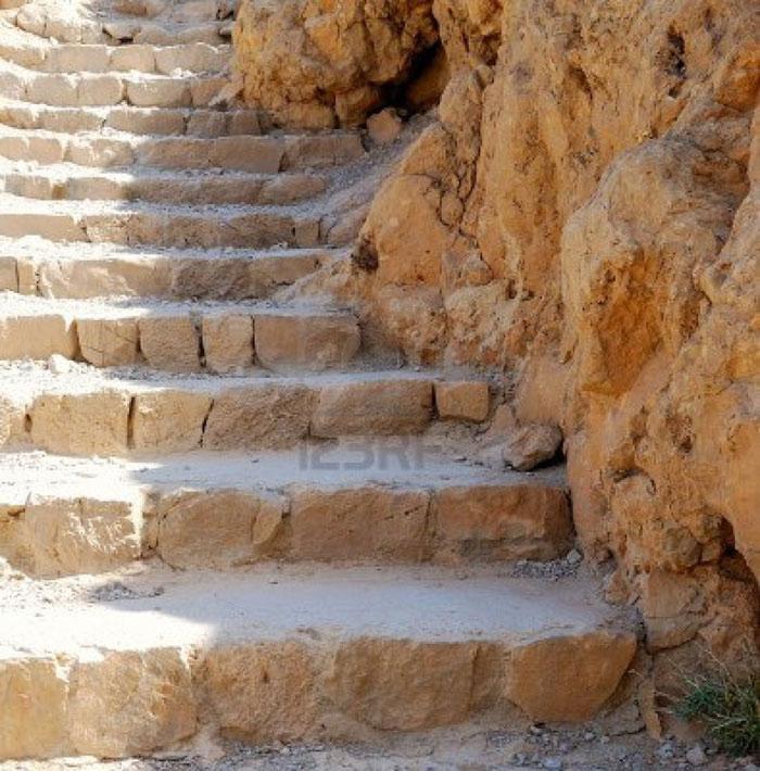 Đường mòn dẫn lên pháo đài