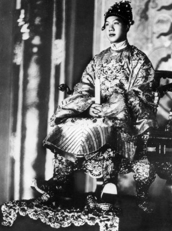 Lễ Nam Giao, vua ngồi kiệu - 1935.