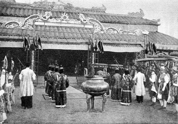 Lễ tết cung đình Huế