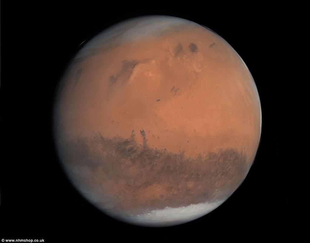 Đây mới là màu sắc thực sự chúng ta sẽ nhìn thấy khi du hành lên sao Hỏa.