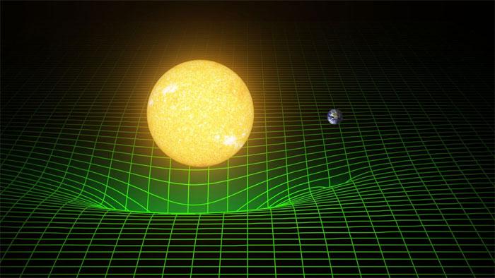 Chỉ có những vật lớn với khối lượng vật chất dày đặc như hố đen và các sao neutron mới có khả năng bẻ cong không-thời gian mạnh như này.