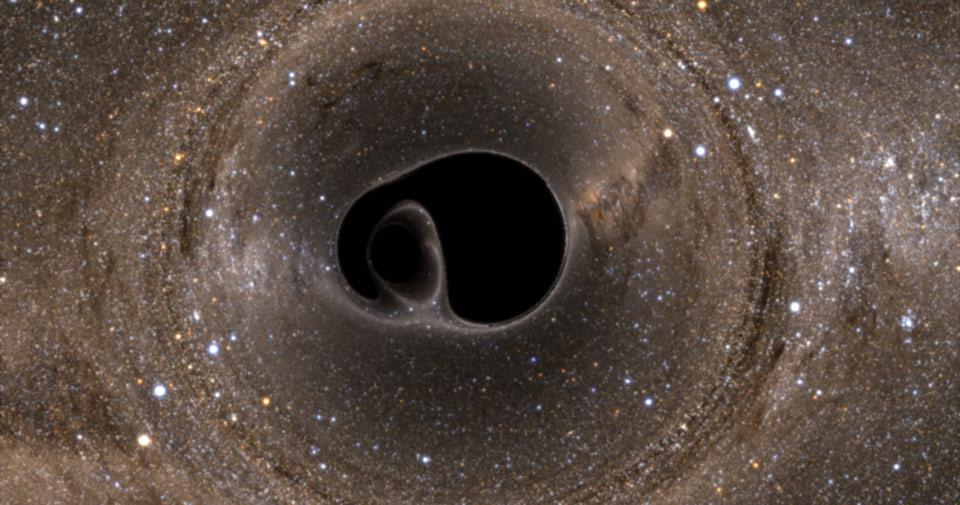 Sóng hấp dẫn đến từ một cặp lỗ đen va vào nhau