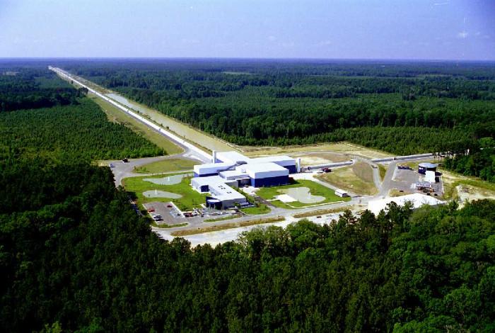 Hệ thống LIGO đặt ở Livingston.