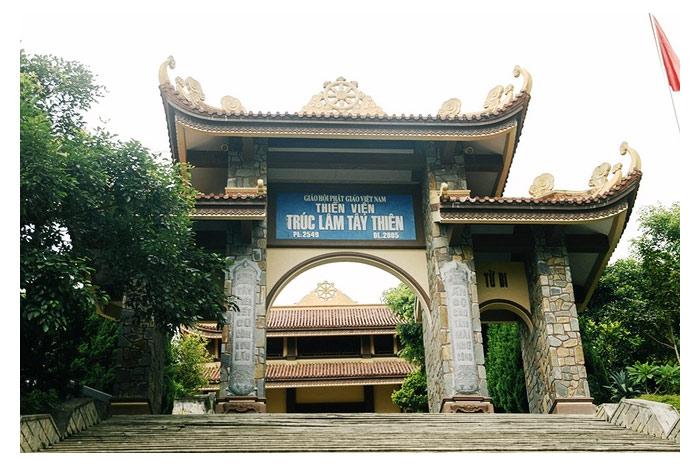Thiền viện thuộc Thiền phái Trúc Lâm Yên Tử