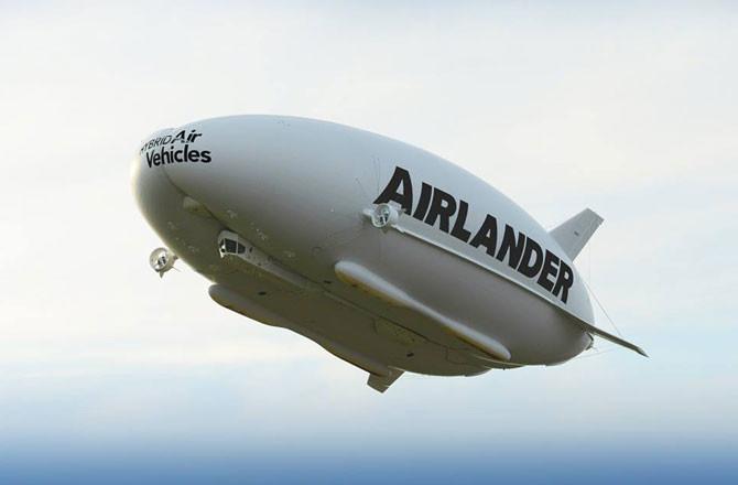 Airlander là máy bay lai khinh khí cầu dài hơn 91m.