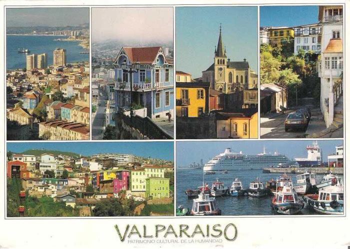Thành phố cổ Valparaiso từng là một trong những thành phố thịnh vượng nhất châu Mỹ, được ví như một San Francisco thu nhỏ.