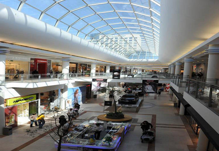Khu trung tâm mua sắm trong thành phố