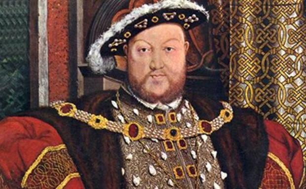 Một bức tranh chân dung của vua Henry VIII.
