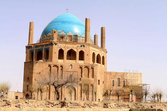 Mái vòm Soltaniyeh tại Iran