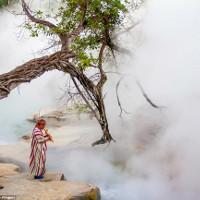 Sông nước sôi luộc chín mọi vật trong rừng Amazon