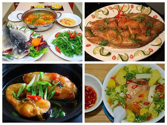 Cá có thể chế biến được nhiều món ăn