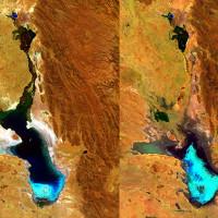 Hồ Poopó rộng 1000km2 bỗng dưng mất tích