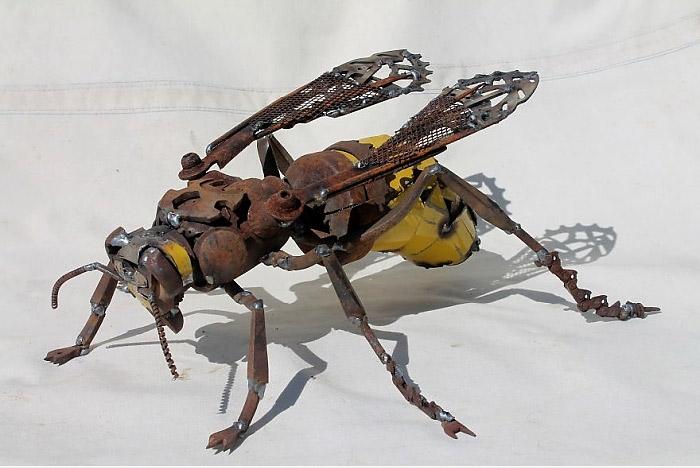 Chú ong bắp cày sống động