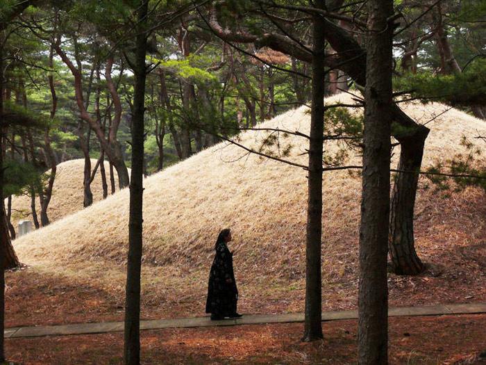 Những ngôi mộ này được tim thấy tại Triều Tiên và Trung Quốc.