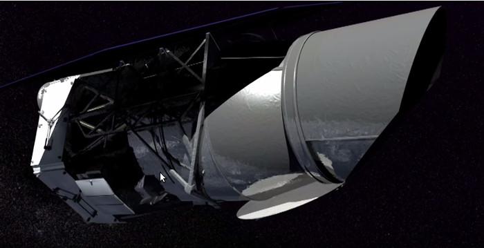 WFIRST còn có hệ thống thấu kính coronagraph có thể chặn ánh sáng lóa từ những ngôi sao.