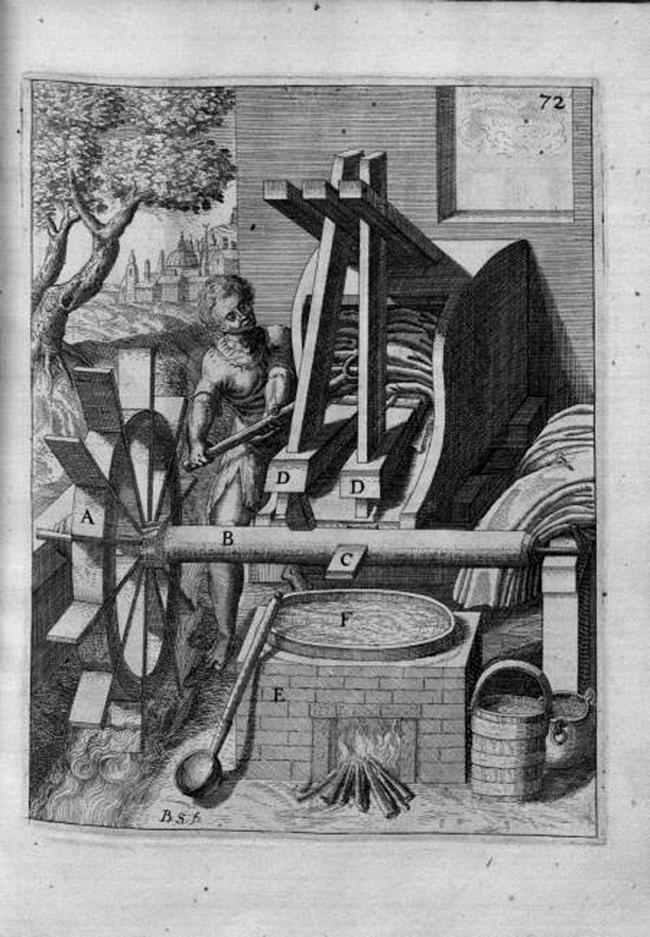 Máy giặt thời La Mã cổ đại