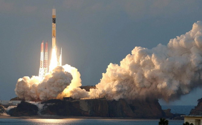 Tên lửa đẩy H-2A đưa vệ tinh ASTRO-H vào vũ trụ ngày 17/2.