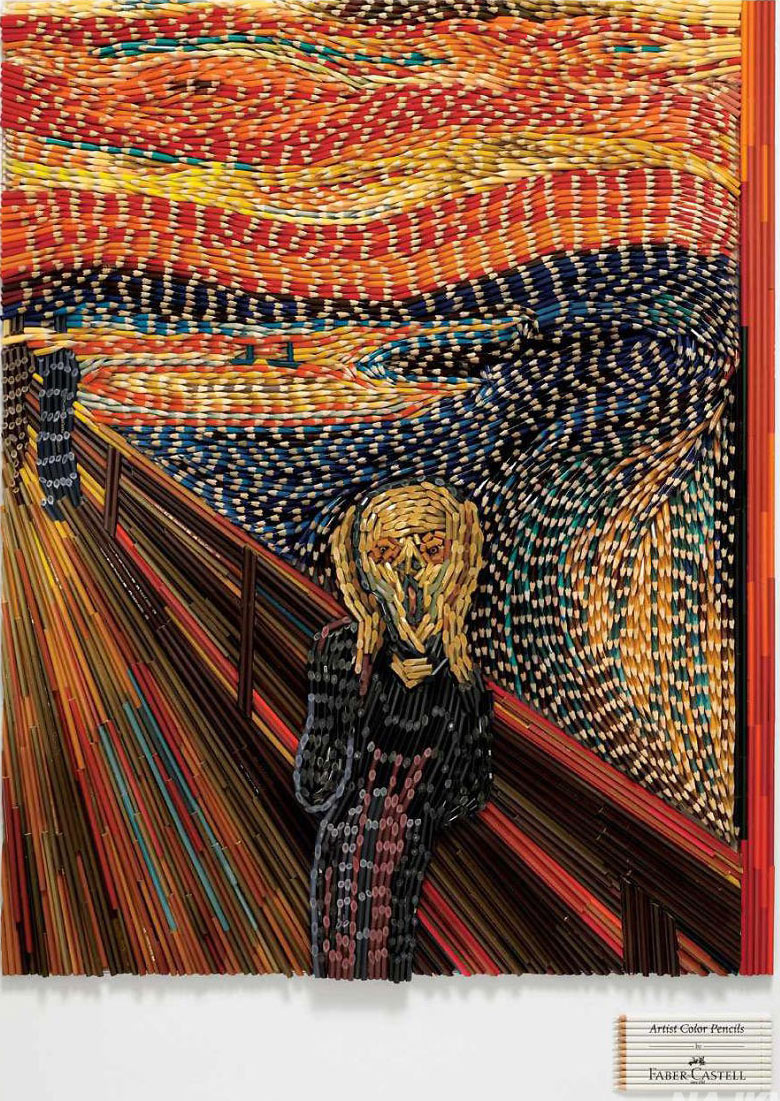 Bức họa The Scream nổi tiếng thế giới của Edvard Munch.