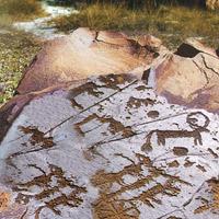 Tranh khắc đá tại khu vực khảo cổ Tamgaly
