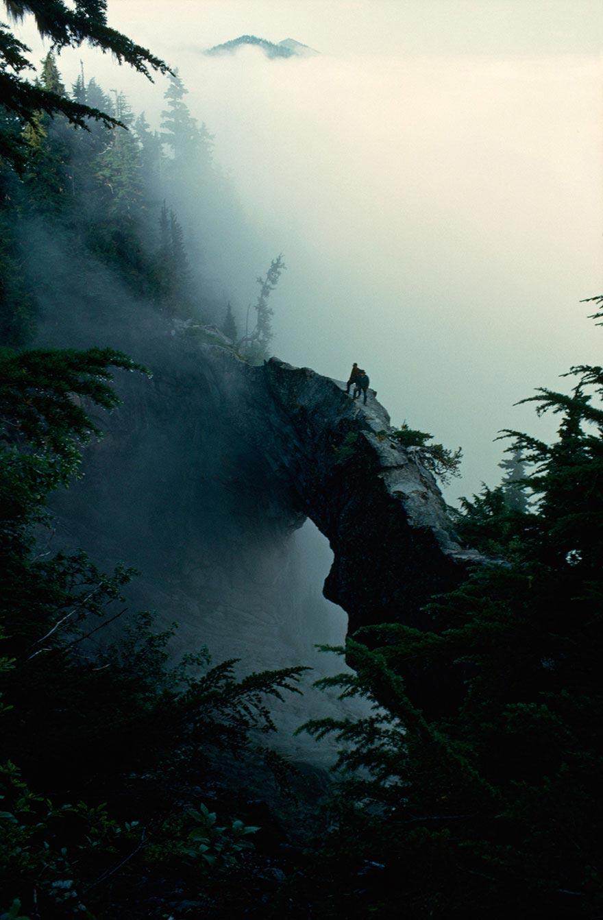 Cây cầu đá ở núi Rainier, Washington