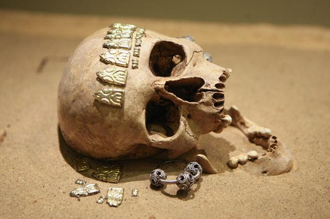 Những cổ vật khai quật được từ khu di chỉ Kernavé