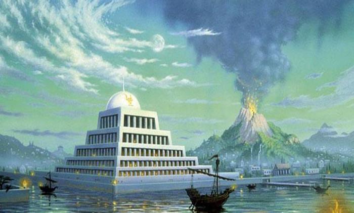 Atlantis là một thuộc địa văn minh của người ngoài trái đất.