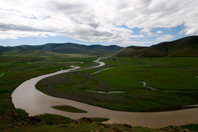 Dòng sông Orkhon