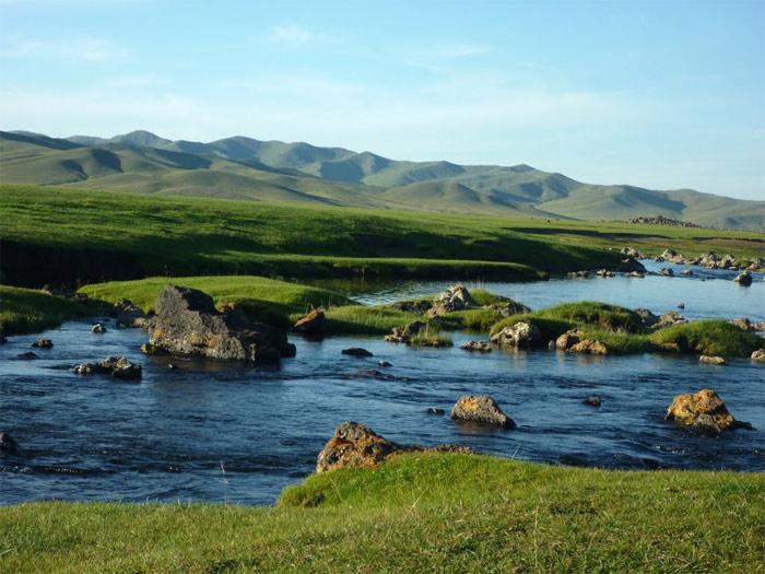 Thung lũng Orkhon nằm trải dọc theo bờ sông Orkhon ở miền trung của đất nước Mông Cổ.