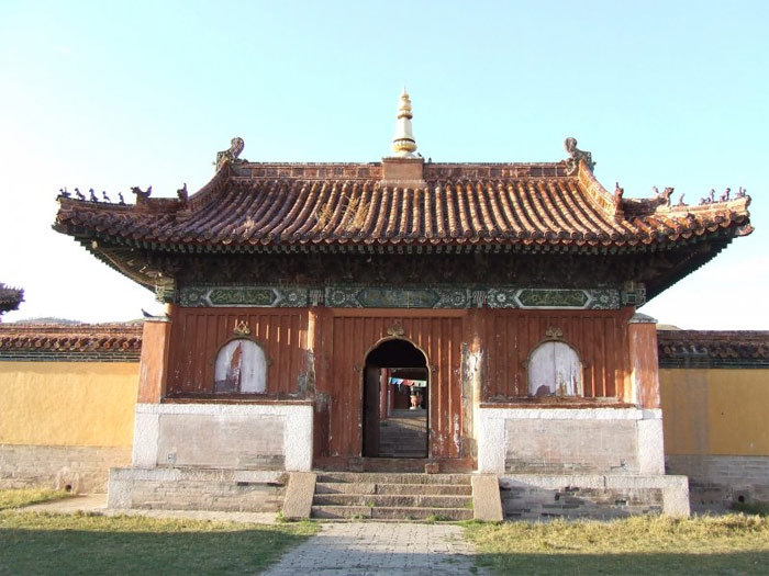 Khu vực thung lũng Orkhon có nhiều Tu viện Phật Giáo