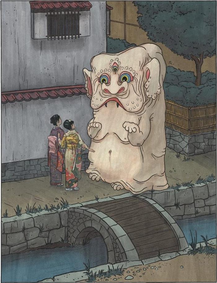 Quái vật Nurikabe