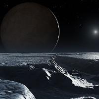 Dấu vết của đại dương mênh mông trên mặt trăng của Diêm Vương