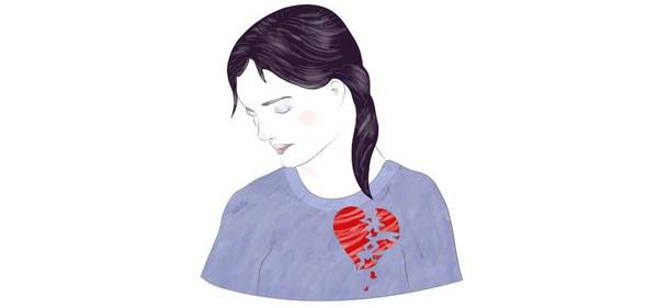 Nhịp tim của bạn có thể giảm xuống sau khi nói lời chia tay.