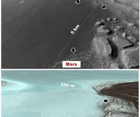Sao Hỏa có thể đã nuôi dưỡng sự sống cổ đại nào đó.