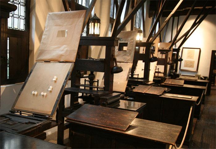 Quần thể bảo tàng, nhà xưởng Plantin – Moretus có những bước tiến kỹ thuật cũng như khoa học vượt trội
