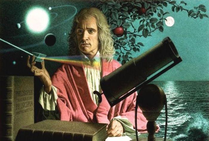 Isaac Newton nhà khoa học vĩ đại có tầm ảnh hưởng lớn nhất thế giới.
