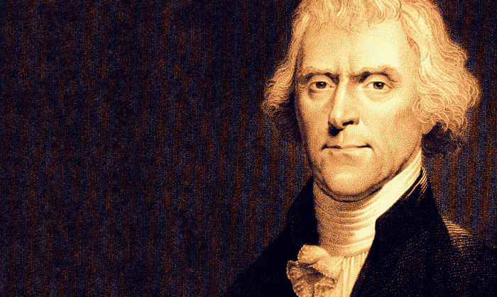 Thomas Jefferson là tổng thống thứ 3 của hợp chủng quốc Hoa Kỳ.