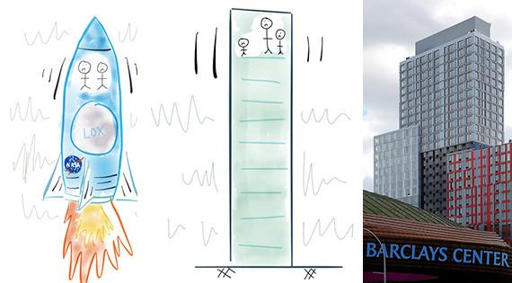 Mục tiêu của các kỹ sư của B2 là giảm thiểu chuyển động của tòa nhà khi có gió lớn.