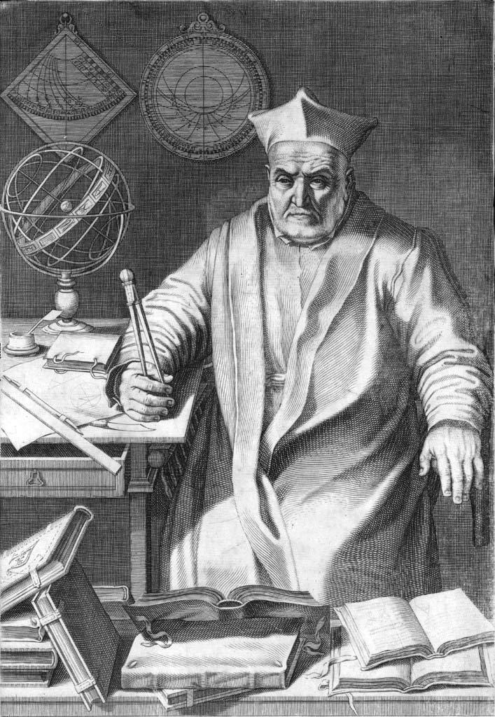 Christopher Clavius, nhà toán học và thiên văn học người Đức.
