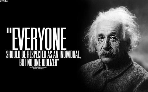 Những bài học ý nghĩa từ Albert Einstein